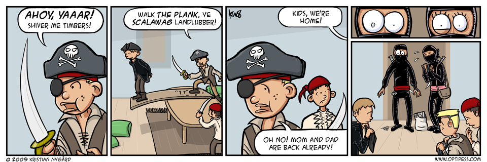 Parents vs Pirates