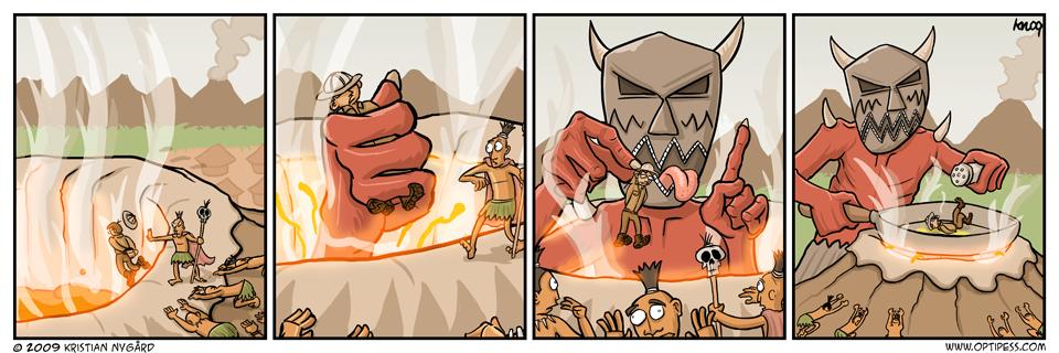 Versus the Volcano