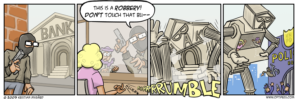 Roboted Robbery