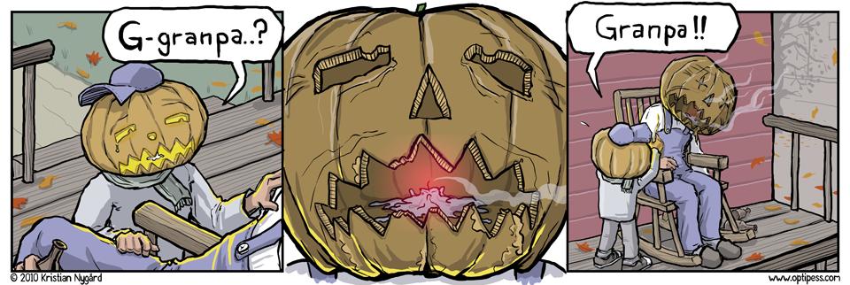 Pumpkin Granpa
