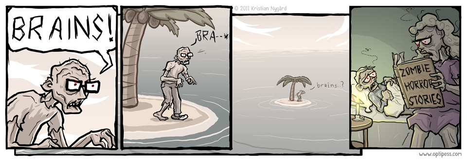 Desert Island Zombie