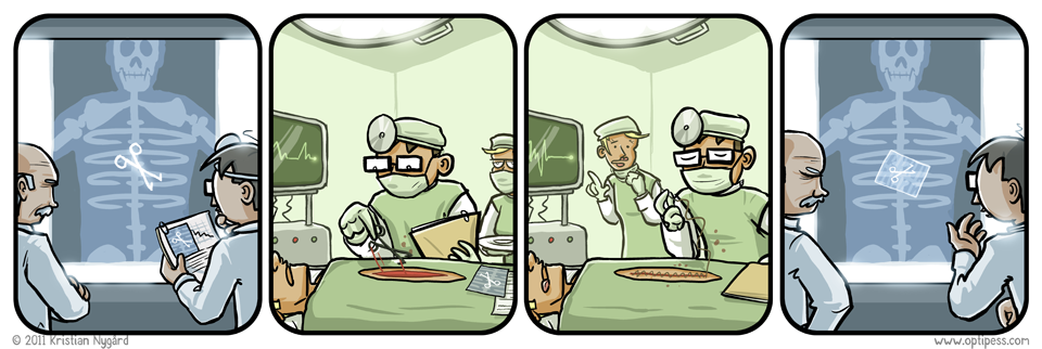 Forgetful M.D.