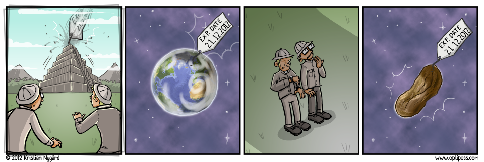 It's either this scenario, or; the earth wi