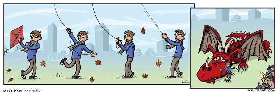 Kite for Bait