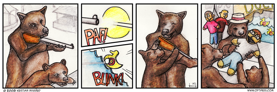 Prize for Bear