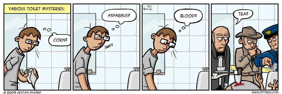 Toilet Mysteries