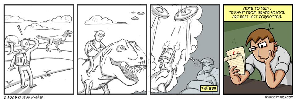 Retro Comic: The End
