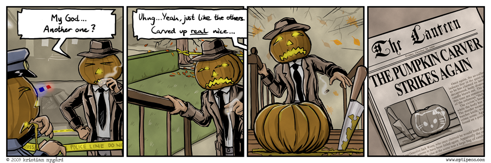 The Pumpkin Carver
