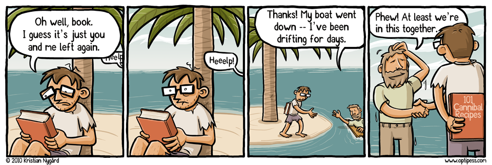The Desert Island Dilemma