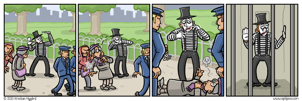 Mime Murderer