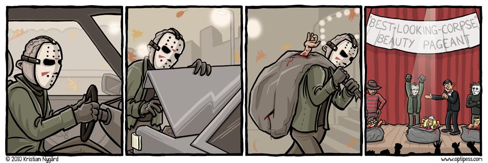 Freddy vs Jason Again