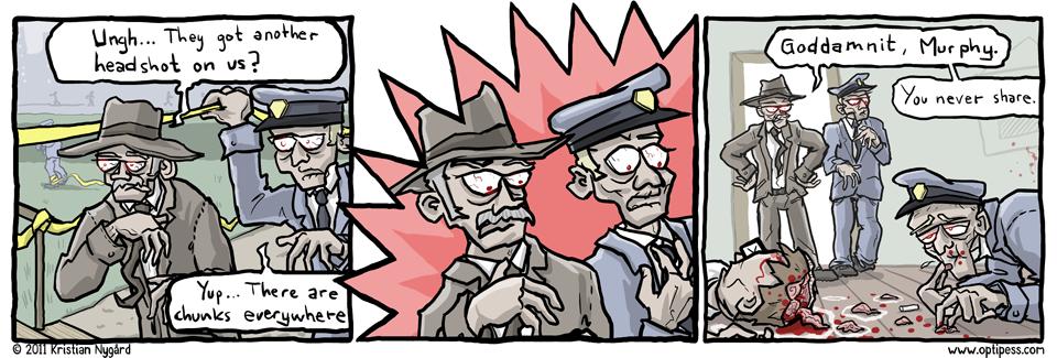 Crime Scene Snack