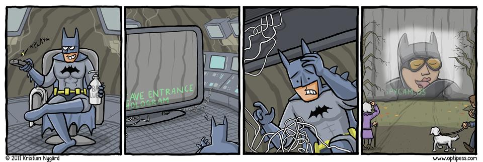 Batscreen Mistake
