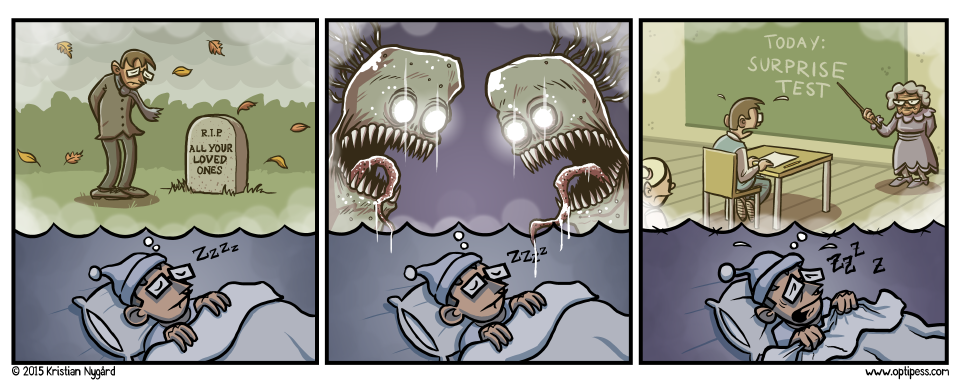 The second panel turned into a wet dream as soon as the creatures started making out.