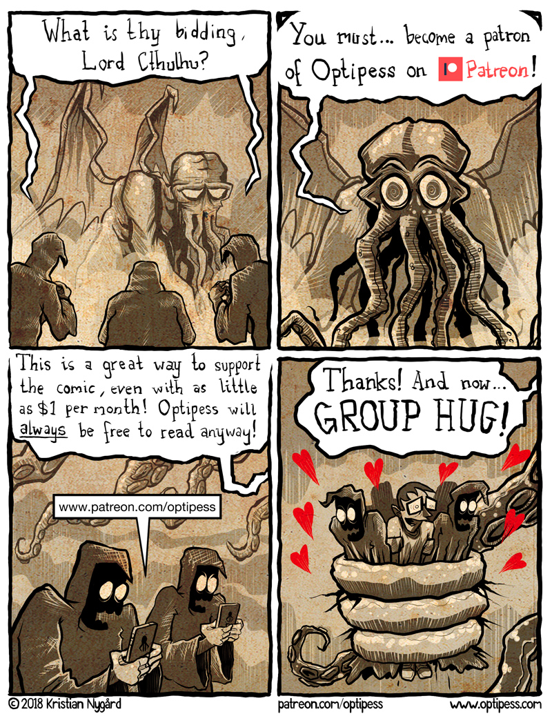 Cultists are also more successful romantically with other Deep Ones.