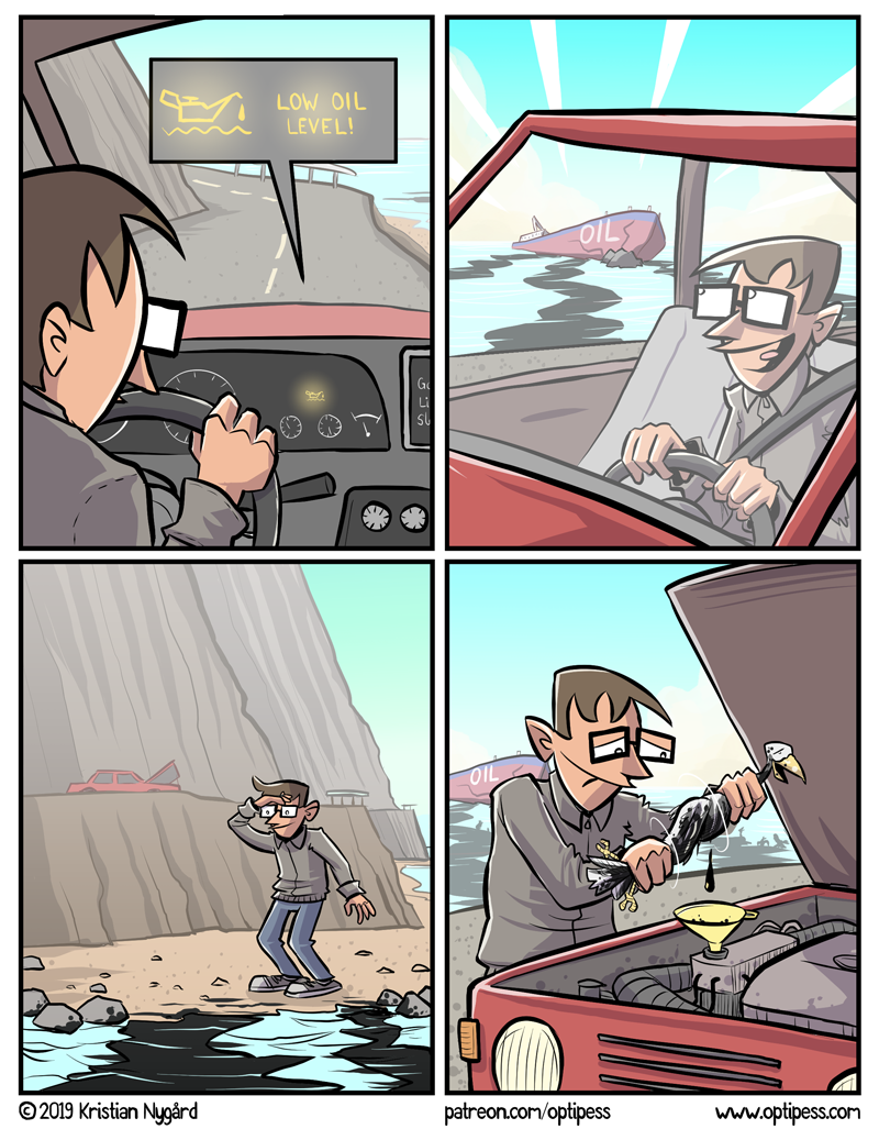 This comic is entirely accurate, scientifically and otherwise. Well, except that I would never drive with both hands on the steering wheel.
